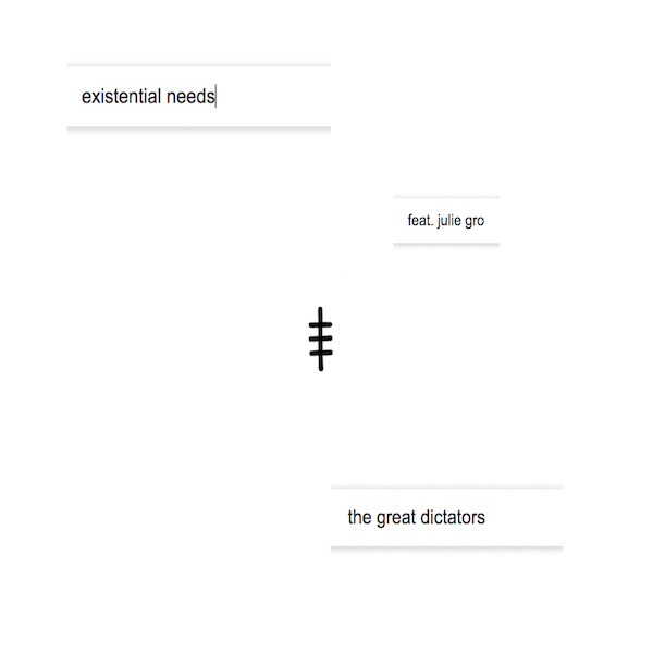 TGD – Existential Needs (artwork) 600×600
