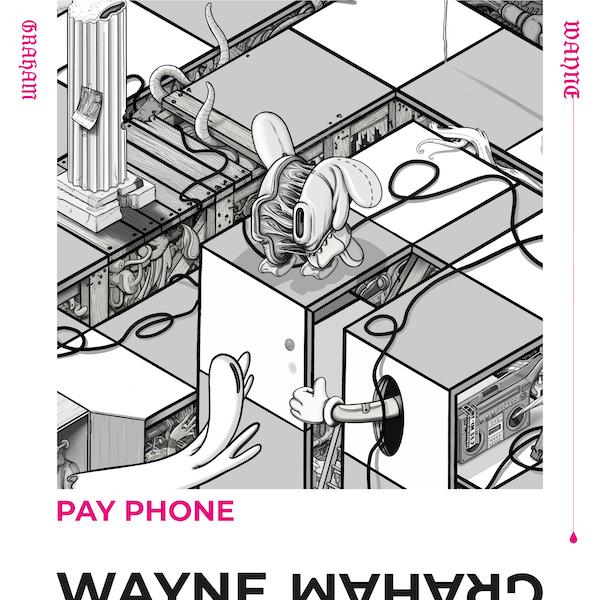 Wayne_Graham_PayPhone_single-cover_600x600